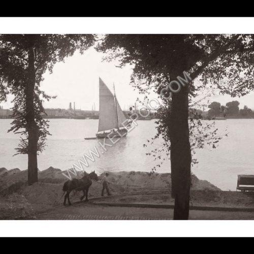 Photo d'époque Bordeaux n°09 - Bords de Garonne