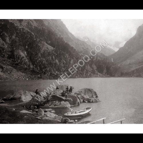 Photo d'époque CAUTERETS n°01 - Lac de Gaube