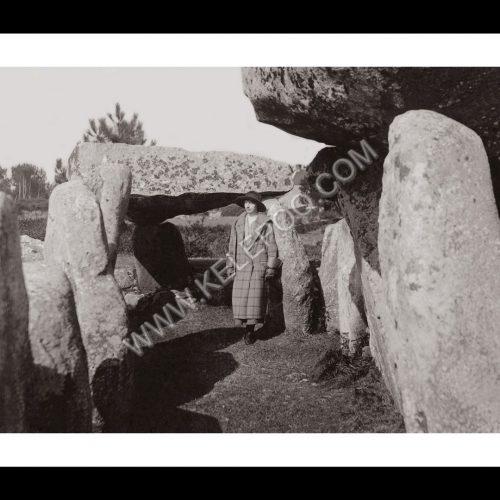 Photo d'époque Carnac n°04 - alignements de Carnac