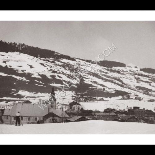 Photo d'époque Megève n°02 - vue sur la station 1934
