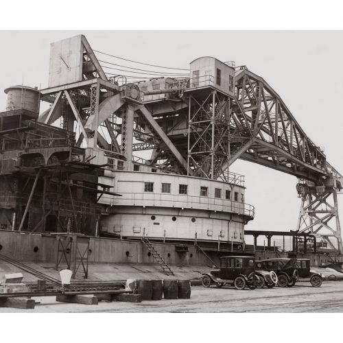 Photo d'époque Sur l'eau n°64 - Grue flottante de Philadelphie