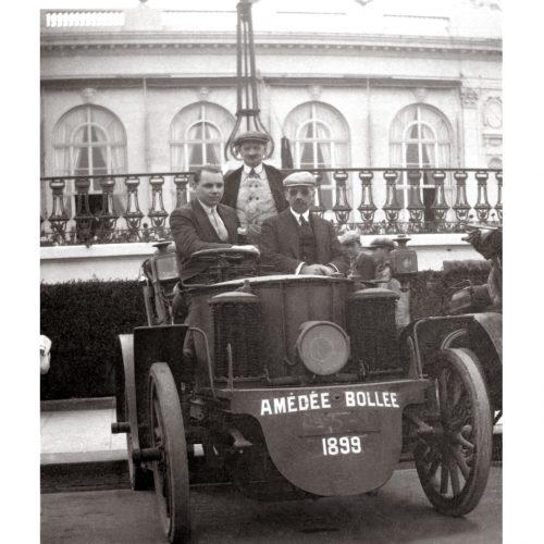 Photo d'époque Automobile n°80 - Amédée Bollée constructeur Français l'un des précurseurs de l'industrie automobile