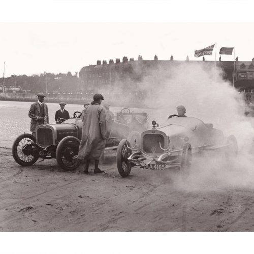 Photo d'époque Automobile n°83 - voiture Delage - course Angleterre