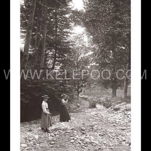 Photo d'époque Campagne n°29 - promenade en campagne