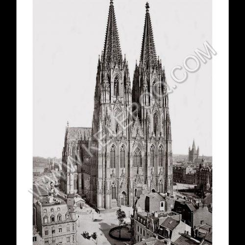 Photo d'époque Cologne n°09 - la Cathédrale