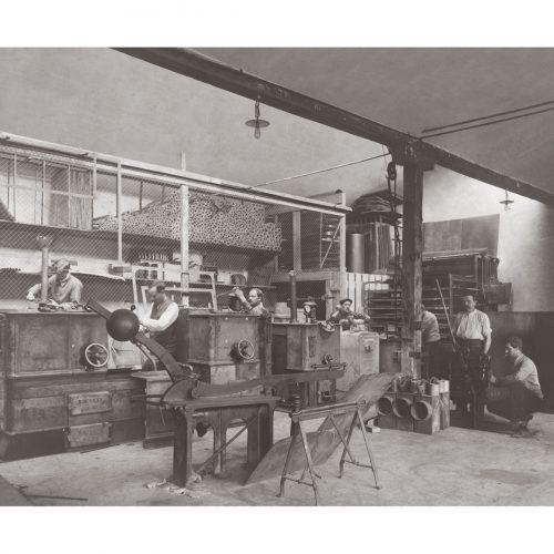 Photos d'époque Métiers n°49 - fabrique de chaudières