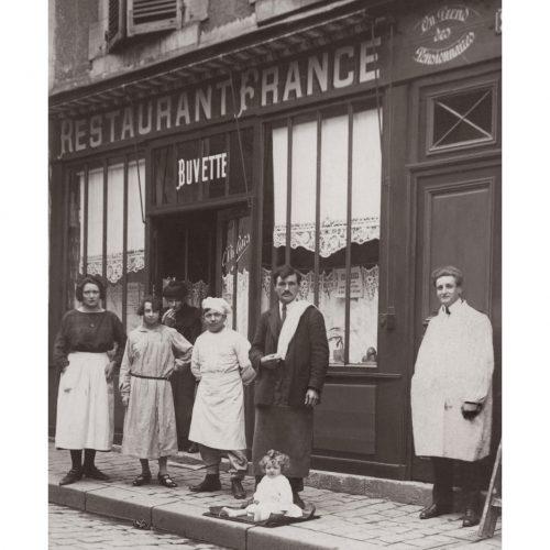 Photo d'époque Métiers n°53 - Restaurant buvette pension à Paris