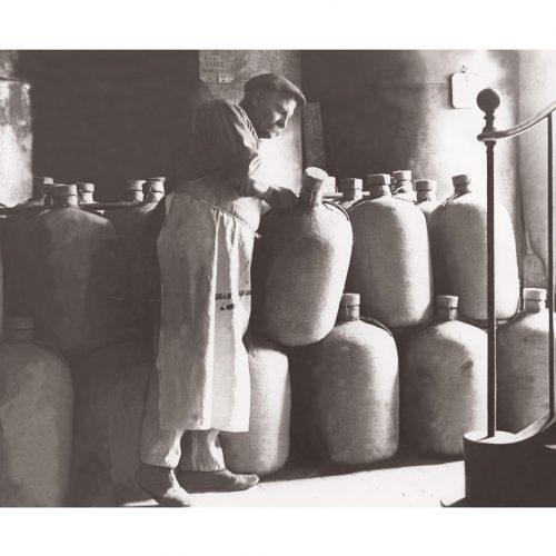 Photo d'époque Métiers n°54 - Fabrique d'huile d'olives années 1900