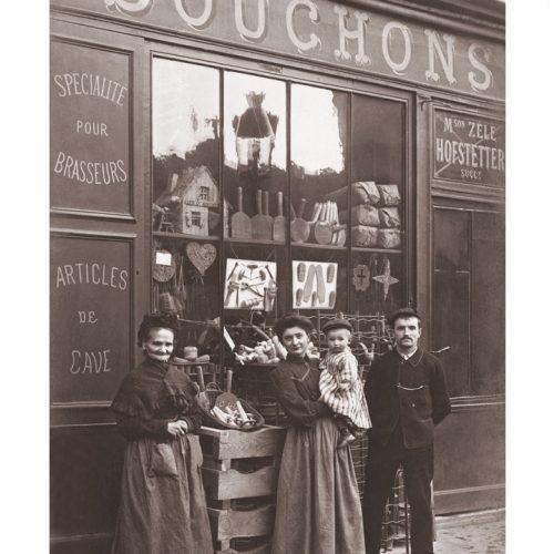 Photo d'époque Métiers n°56 - articles de cave pour brasseurs années 1900