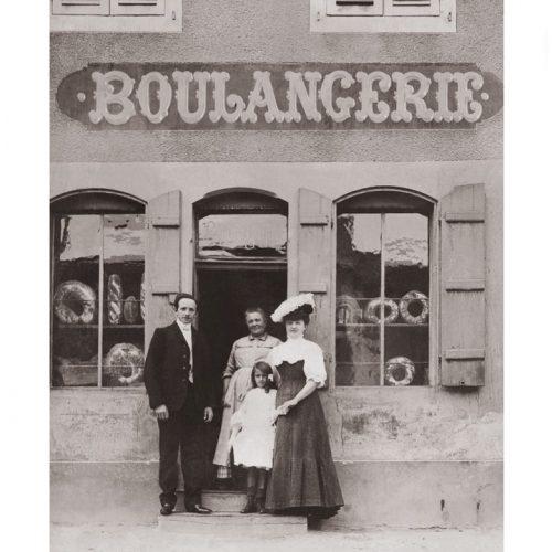 Photo d'époque Métiers n°57 - boulangerie années 1900