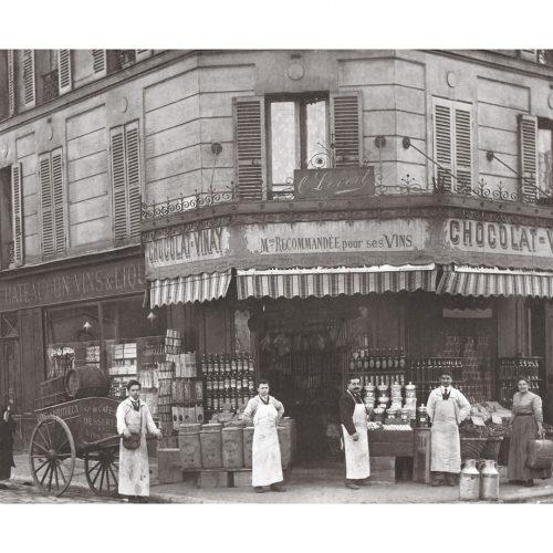 Photo d'époque Métiers n°61 - épicerie Chocolat Vinay - Rue St Médard - Paris