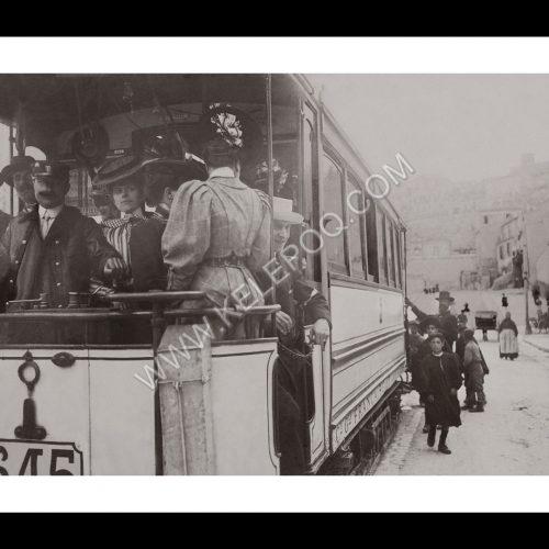 Photo d'époque Marseille n°22 - Le Tramway