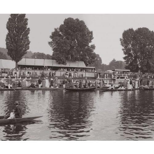Photo d'époque Sur l'eau n°72 - Régates Royales de Henley