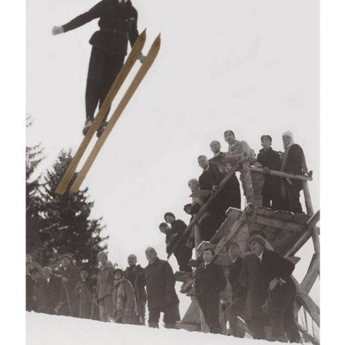 Photo d'époque SPORT couleur n°90 - saut à ski