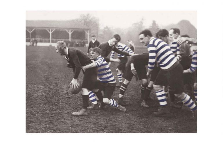 Photo d'époque Sport couleur n°07 - rugby Angleterre