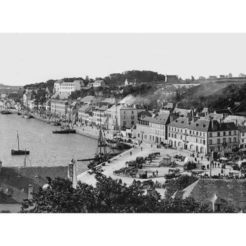 Photo d'époque Audierne n°01 - port d'Audierne