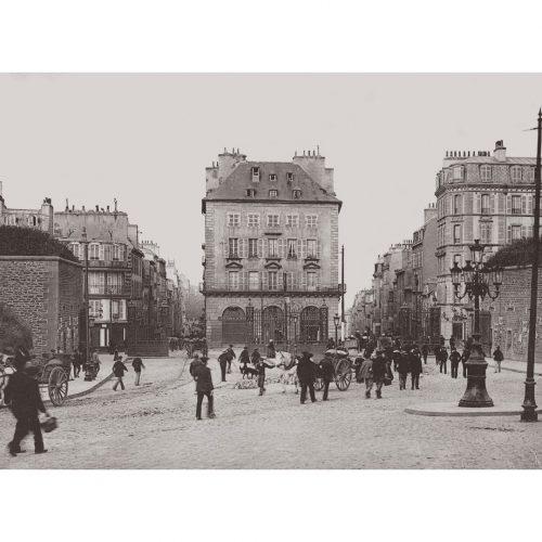 Photo d'époque Brest n°03 - rue de siam