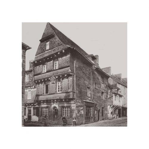 Photo d'époque Carhaix n°01 - maison du Sénechal