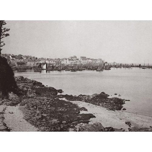 Photo d'époque Douarnenez n°01 - port de Douarnenez
