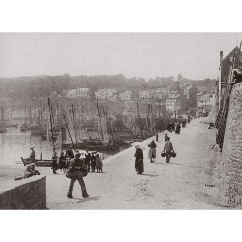 Photo d'époque Douarnenez n°03 - quais du port de Douarnenez