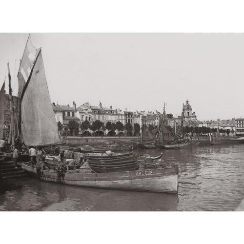 Photo d'époque la rochelle n°04 - Port de la rochelle