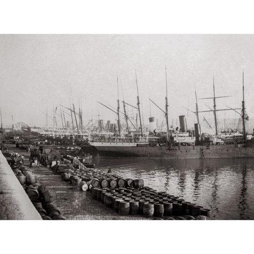 Photo d'époque marseille n°23 - paquebots sur le port