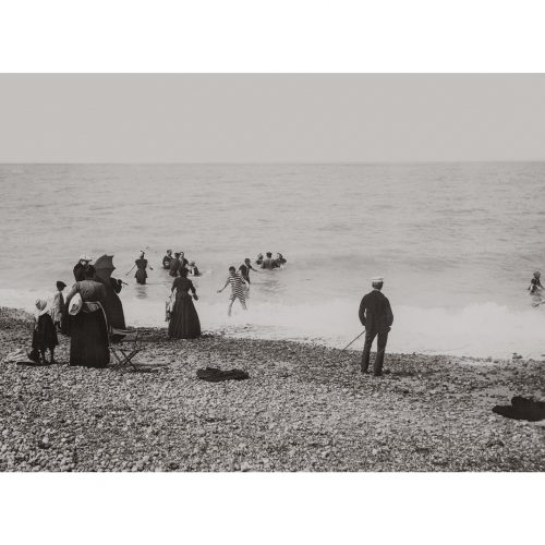 Photo d'époque mer n°91 - plage de cayeux sur mer