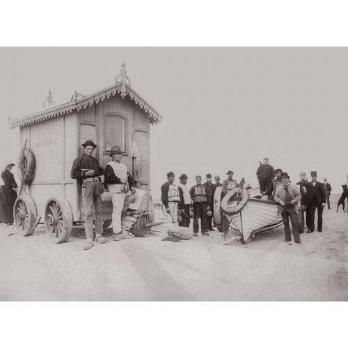 Photo d'époque mer n°97 - société de sauvetage en mer