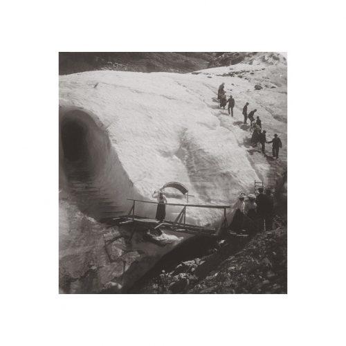 Photo d'époque montagne n°117 - mer de glace