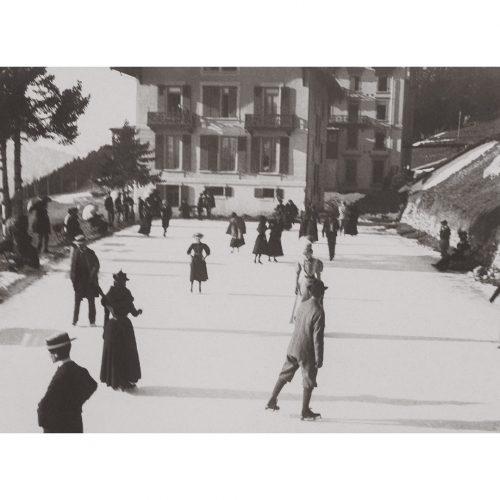Photo d'époque n°118 - patinage