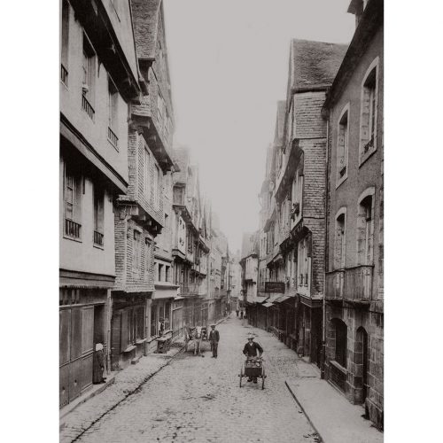 Photo d'époque Morlaix n°04 - la grande rue
