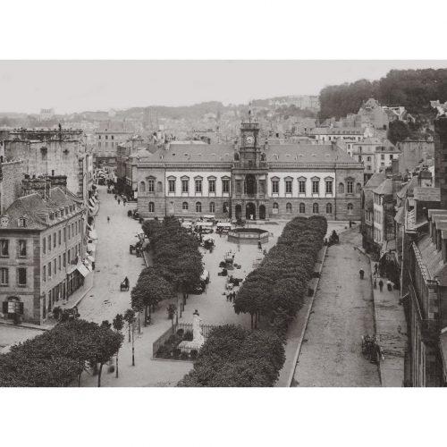 Photo d'époque Morlaix n°05 - Hôtel de ville