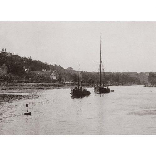 Photo d'époque Morlaix n°07 - la rivière