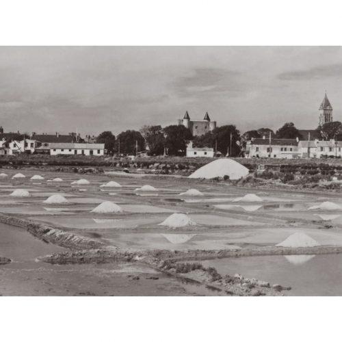 Photo d'époque Noirmoutier n°28 - les marais salants