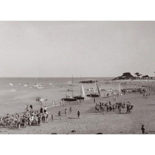 Photo d'époque Noirmoutier n°29 - la plage des dames